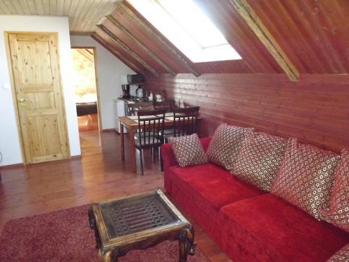 Posezení v ubytování Suur-Sadama Apartment