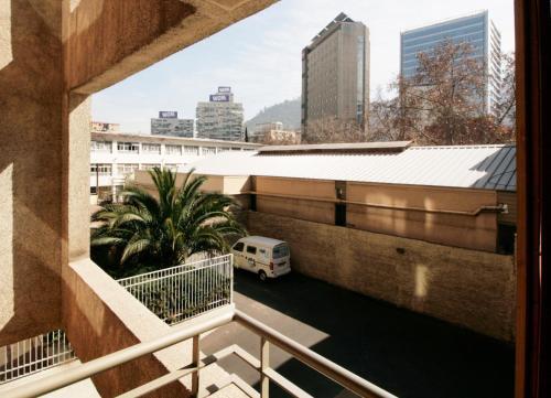 Un balcón o terraza de Apartamento Living Montt