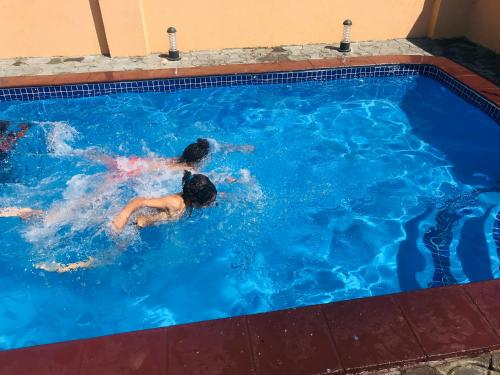 The swimming pool at or near Zano Serviced Apartments B