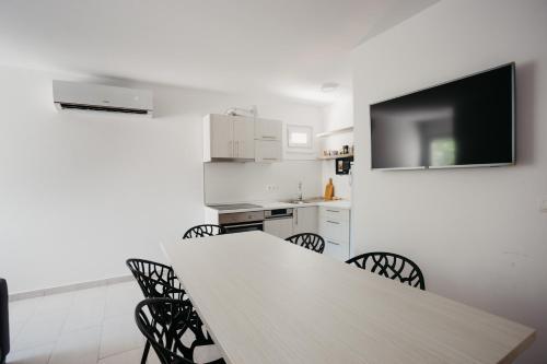A kitchen or kitchenette at Vila Telalović