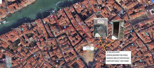 Vista aerea di Ca' Dell' Arte Luxury