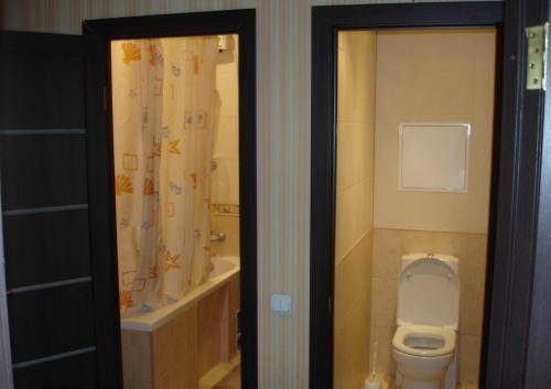 A bathroom at Apartment on Tsentralnaya 17