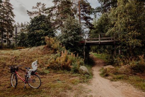 Pyöräilyä majoituspaikan Lake Apartment alueella tai lähistöllä