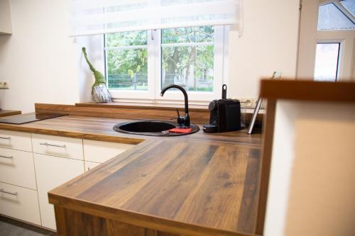 Küche/Küchenzeile in der Unterkunft Ferienwohnung Heimberger - Appartement 2