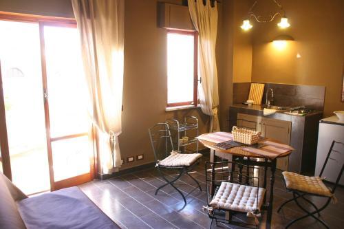 Area soggiorno di Trapani Accommodation