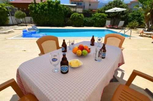The swimming pool at or near Paradise Villa