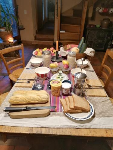 Bed And Breakfast La Petite Ferme De Gaia Romange France