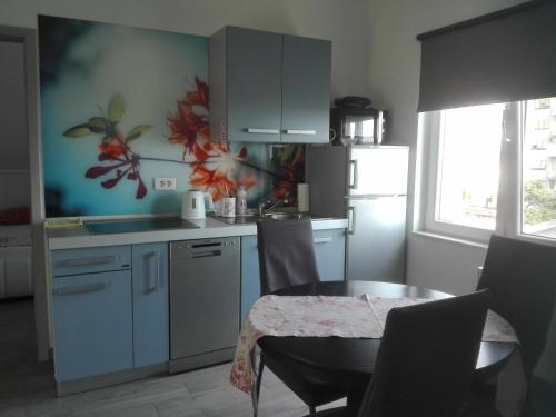 A kitchen or kitchenette at Apartment Cvjetna