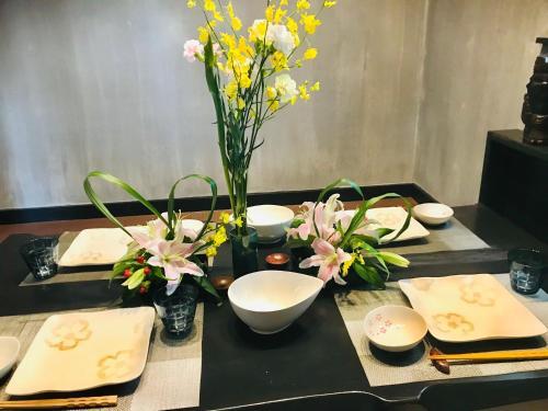 余市亭Yoichiteiにあるレストランまたは飲食店