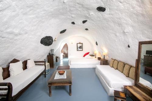 Zona de estar de Alexander's Suites