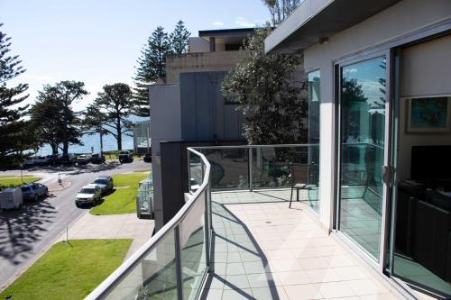 A balcony or terrace at 507 At The Waves