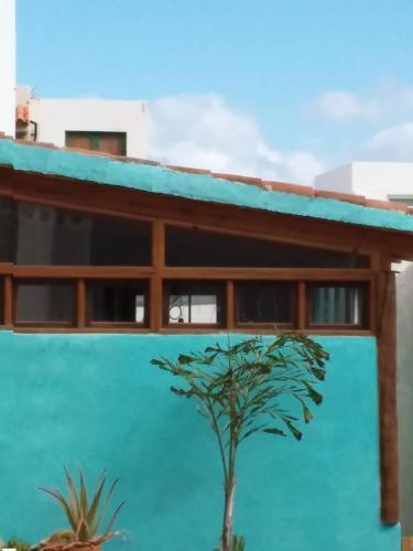 The swimming pool at or near La Casita Azul