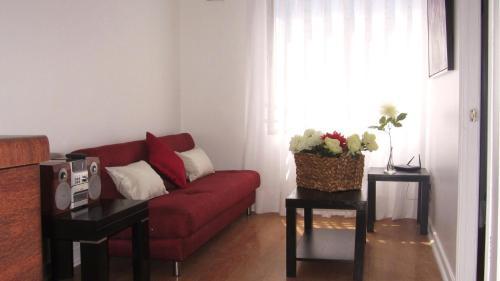 Zona de estar de Departamento Doña Lucia