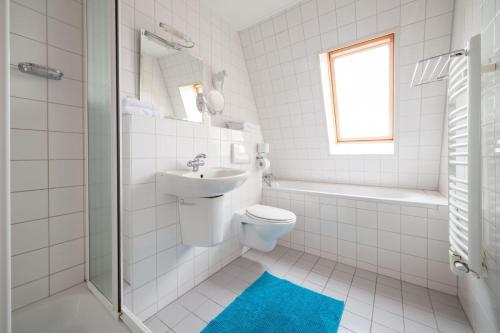 Ett badrum på De Strandloper