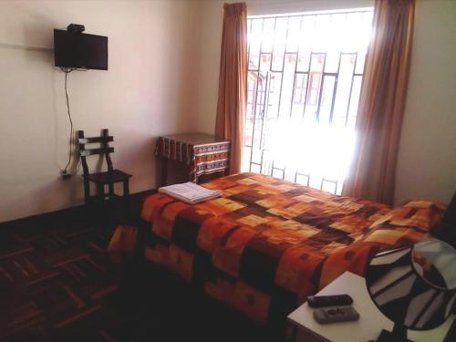 Cama o camas de una habitación en Daniela´s House