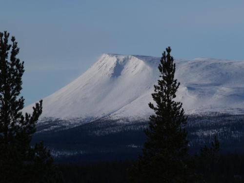 Oltjärns Stugby during the winter