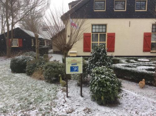 De Stadsboerderij Harderwijk in de winter