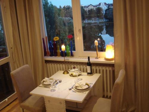 A restaurant or other place to eat at Apartment Berlin-City