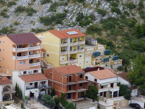 A bird's-eye view of Apartmani Zoran