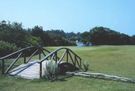 Jardín al aire libre en Apartamento 4 - Golf