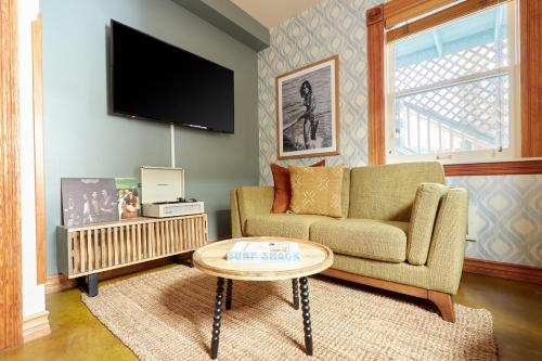 A seating area at Sonder — East Village Bungalows