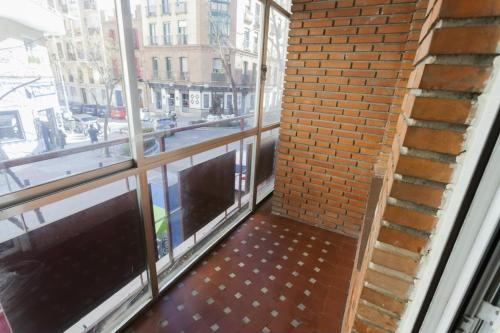 A balcony or terrace at DELICIAS APARTMENT