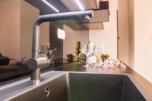 Kúpeľňa v ubytovaní Rita Apartman