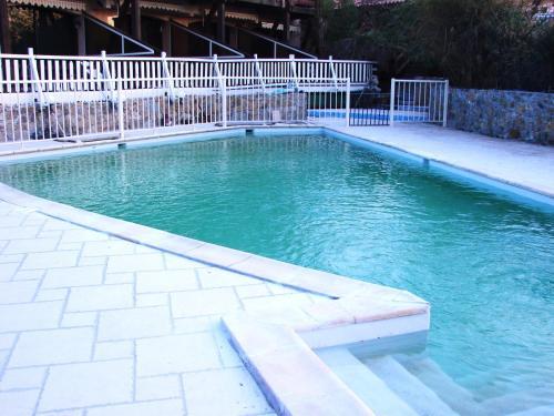 Der Swimmingpool an oder in der Nähe von Résidence Posidonie