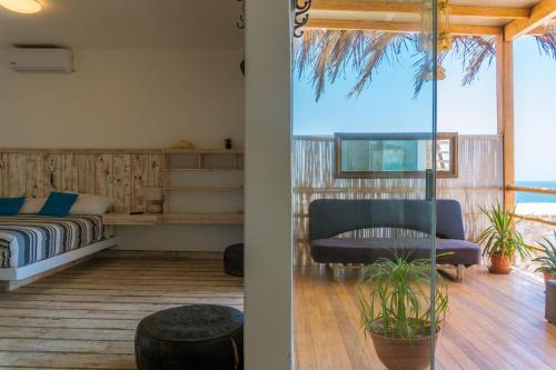 Zona de estar de Punta Sol Apart Hotel