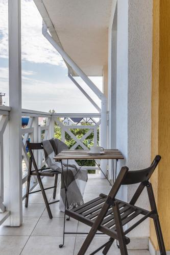 A balcony or terrace at LetooteL Hotel