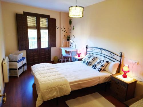 apartamentos la Fragua, medio