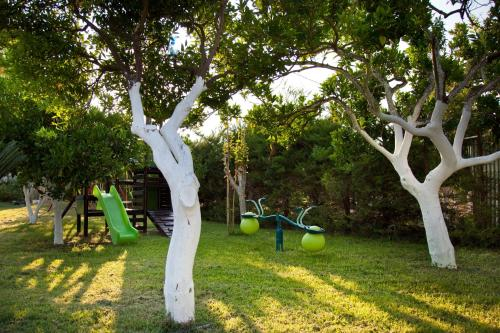 Children's play area at Akroyali Hotel & Villas