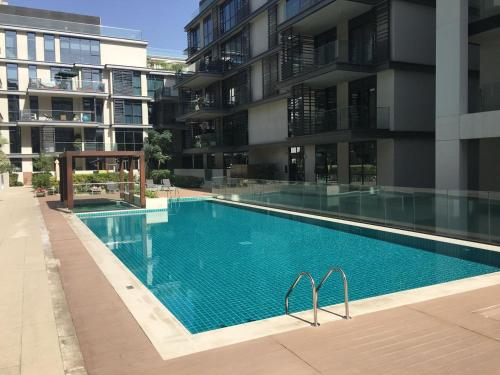 The swimming pool at or near DHH- City Walk Building 10