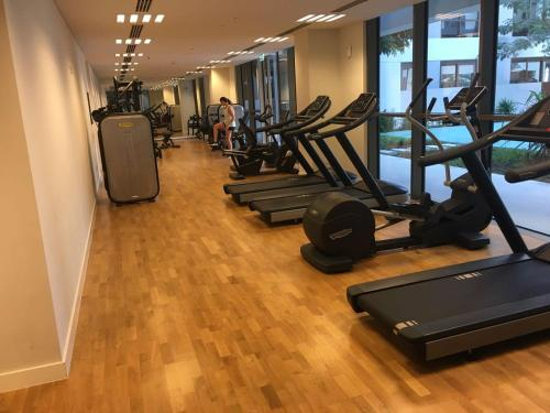 The fitness center and/or fitness facilities at DHH- City Walk Building 10