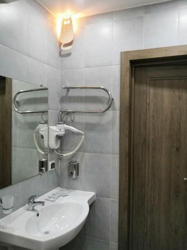 Ванная комната в Гостевой дом Три кота