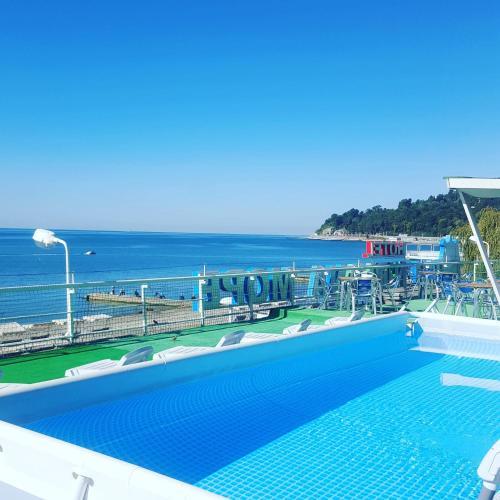 The swimming pool at or near Mini-Hotel Nirvana