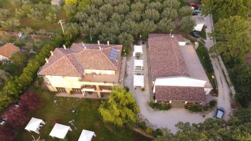 Vista aerea di Antica Locanda Della Via Francigena