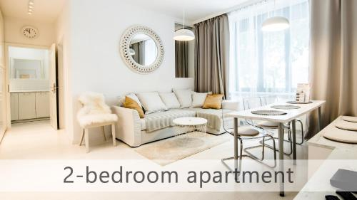 White Apartments with AC by Kovee