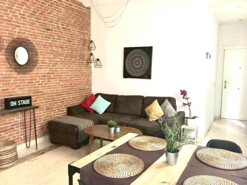 Ruang duduk di Piso nuevo zona sol