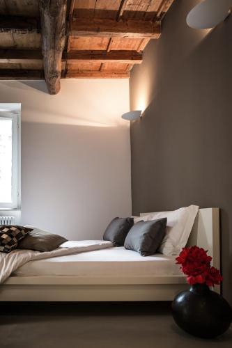Letto o letti in una camera di Fontana Rooms