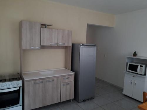 Una cocina o zona de cocina en Pousada Catalina