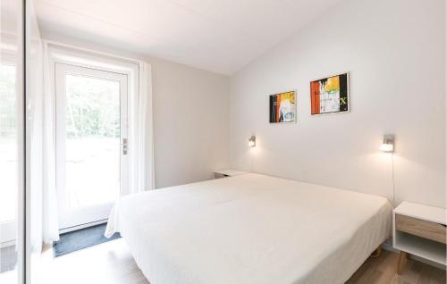 En eller flere senger på et rom på Apartment Pilegårdsvejen Lejl