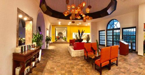 The lobby or reception area at Caribbean apartment