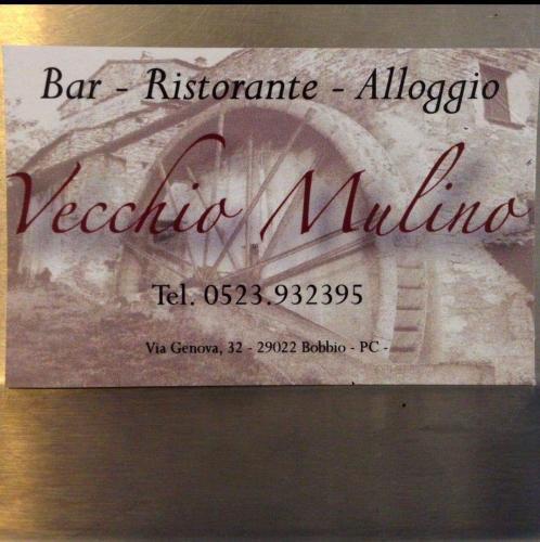 Albergo Bar Ristorante Vecchio Mulino Bobbio Italy