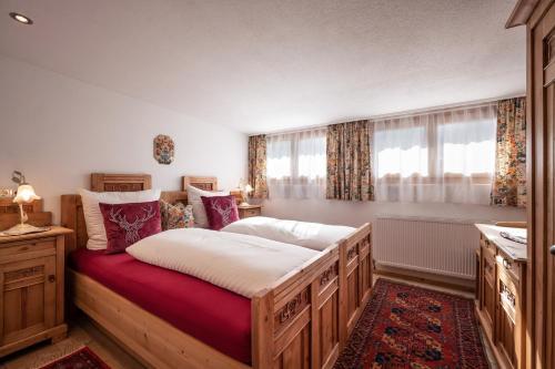 Ein Bett oder Betten in einem Zimmer der Unterkunft Ferienwohnungen Stefan Kröll