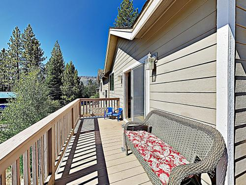 A balcony or terrace at New Listing! Mountain-View Eden W/ Spacious Balcony Home