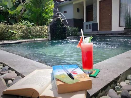 The swimming pool at or close to Villa JJ and Spa Ubud