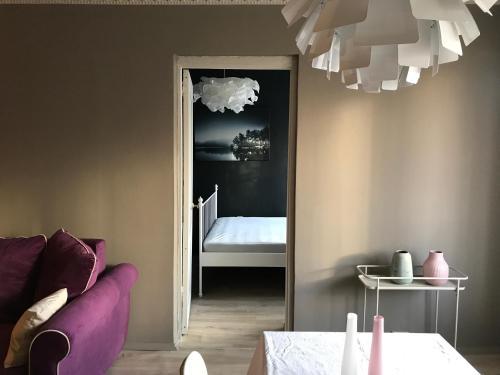 Posteľ alebo postele v izbe v ubytovaní Black Swan House