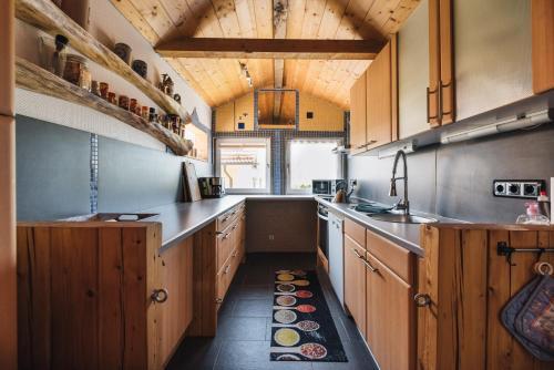 Küche/Küchenzeile in der Unterkunft Casa Piedro