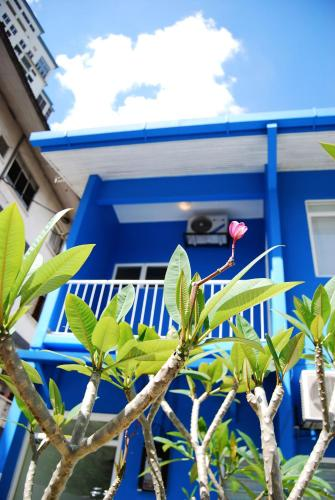 Балкон или терраса в Sahabat Guesthouse